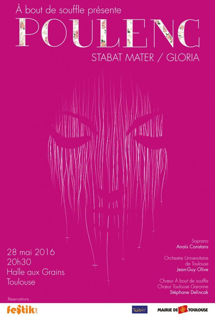 © Jean-Yves Bonzon pour Francis Poulenc : Stabat mater / Gloria, À bout de souffle, 2016.